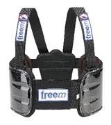 Rib Protection Vest Freeminds Brave Aluminium - Size O / Rookie
