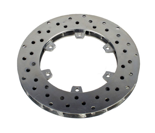 Brake Disc Radially Vented - 100mm I D x 205mm O D x 18mm